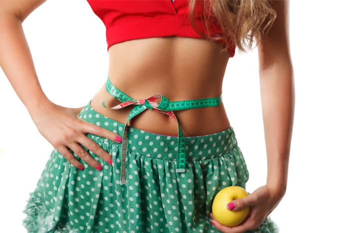 muscle tone woman apple