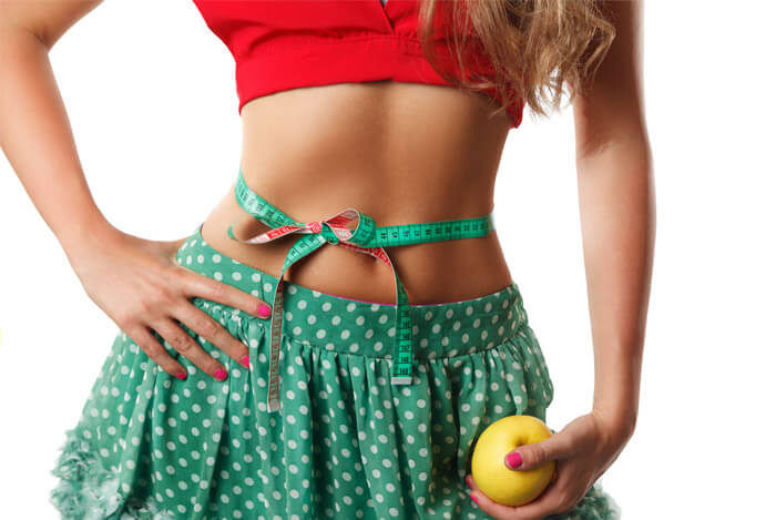 muscle tone woman apple