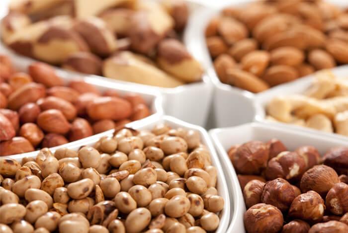 nuts legumes seeds