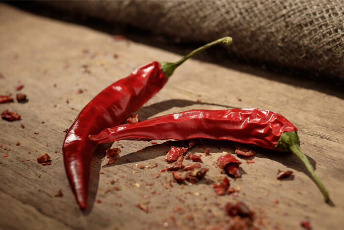 red chilli dried