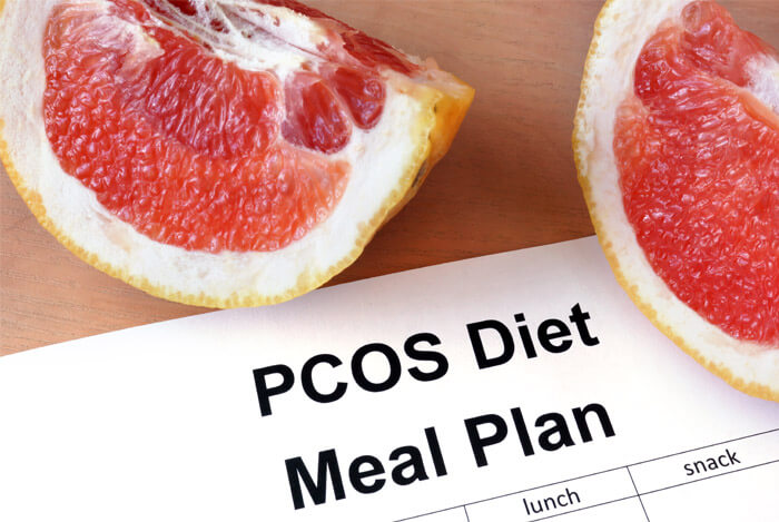 sample PCOS meals