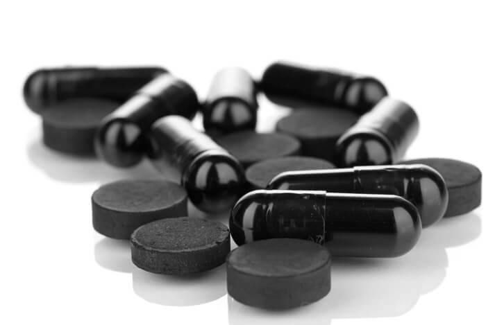 acitivated charcoal pills tablets