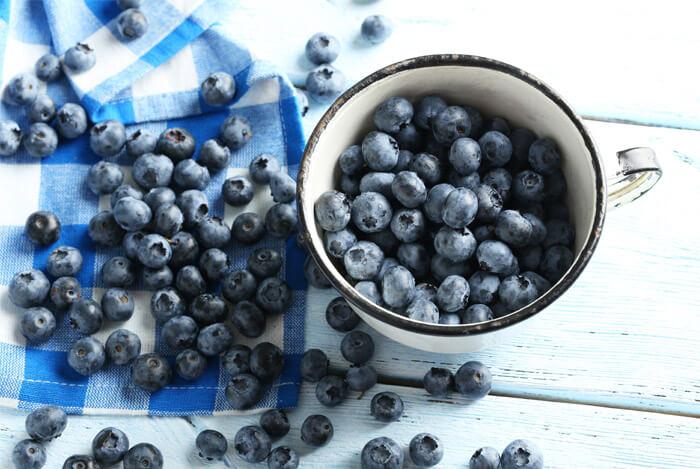 berries bowl blueberries