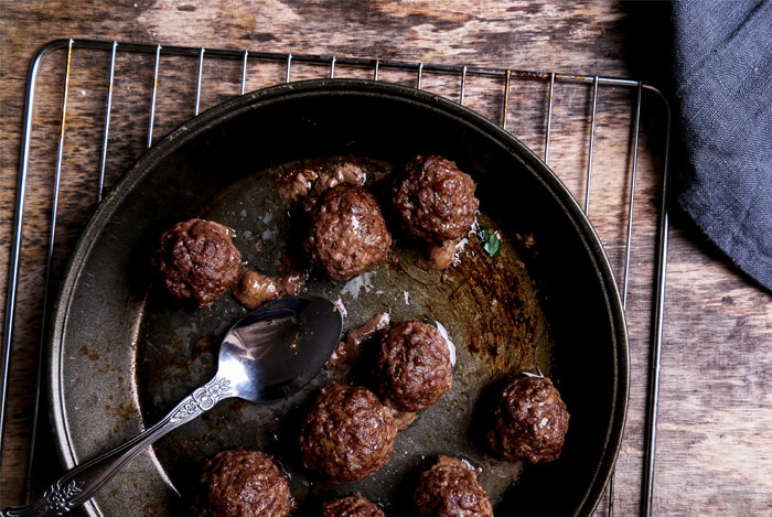clean eating meatballs