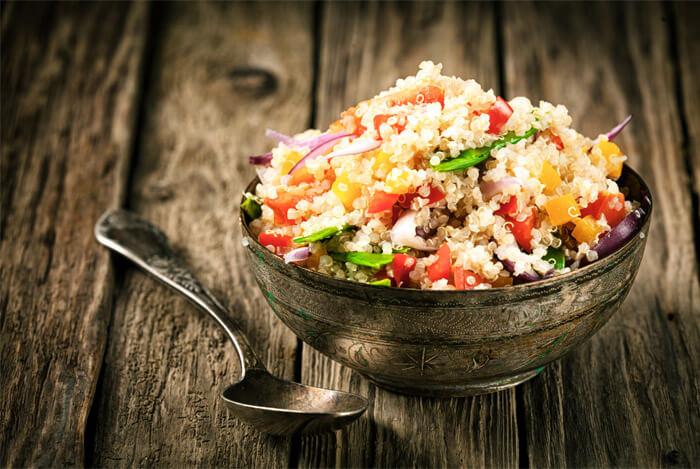 complex carbs quinoa