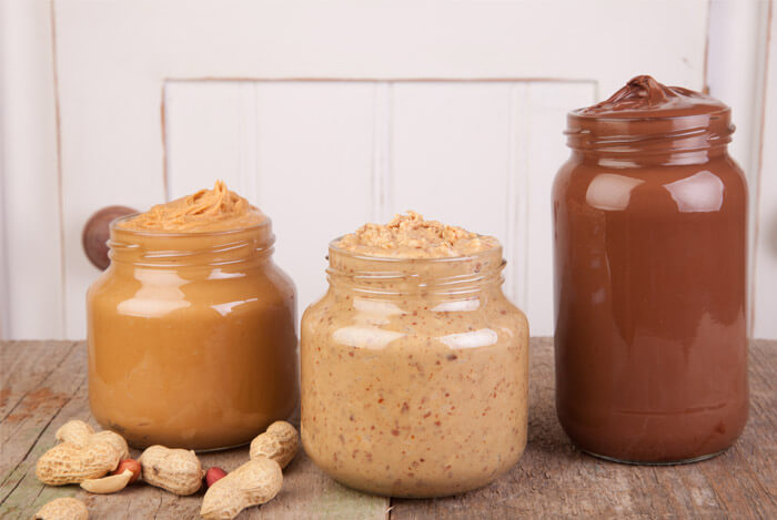 nut butters jars