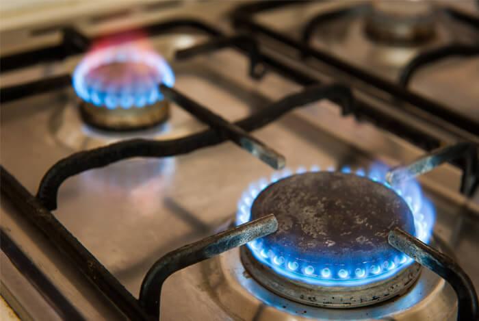 heat of stove