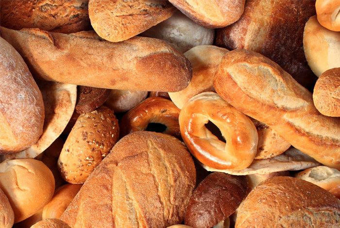 breads gluten