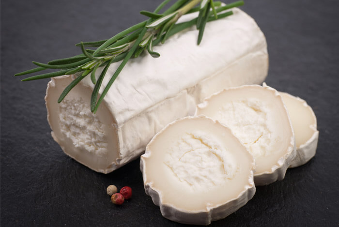lower fat goats cheese