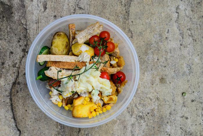 kitchen bin food scraps
