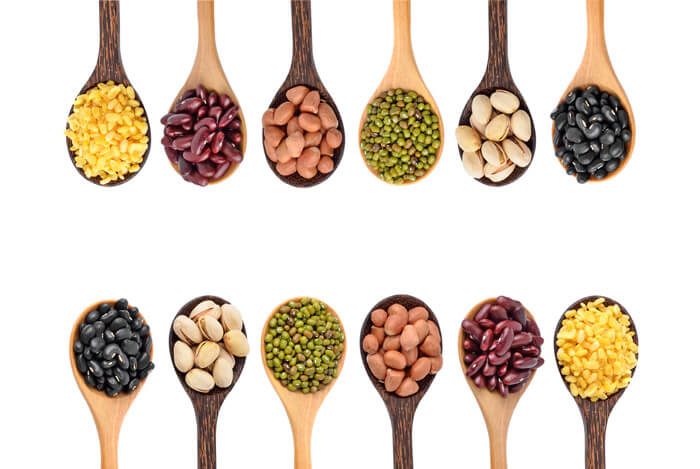 nuts beans legumes