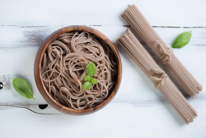 shiitaki soba noodles