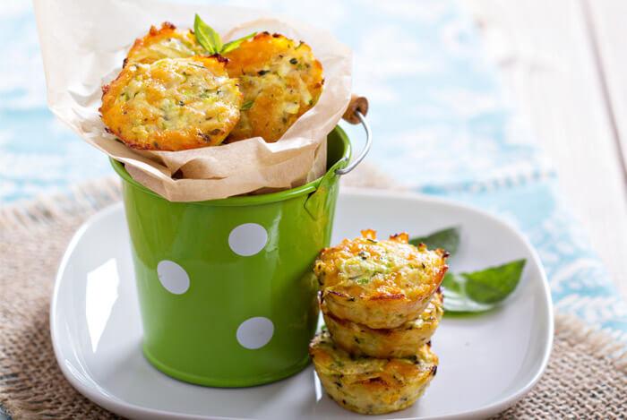 veggie cheese muffins