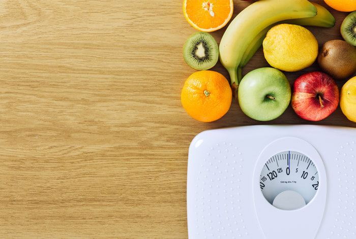 loss of weight on diet