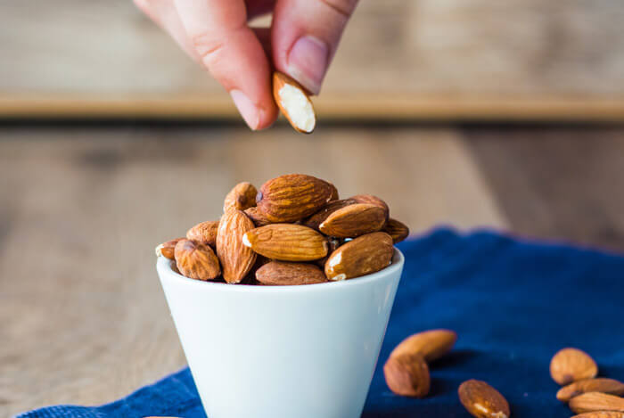 cup almonds