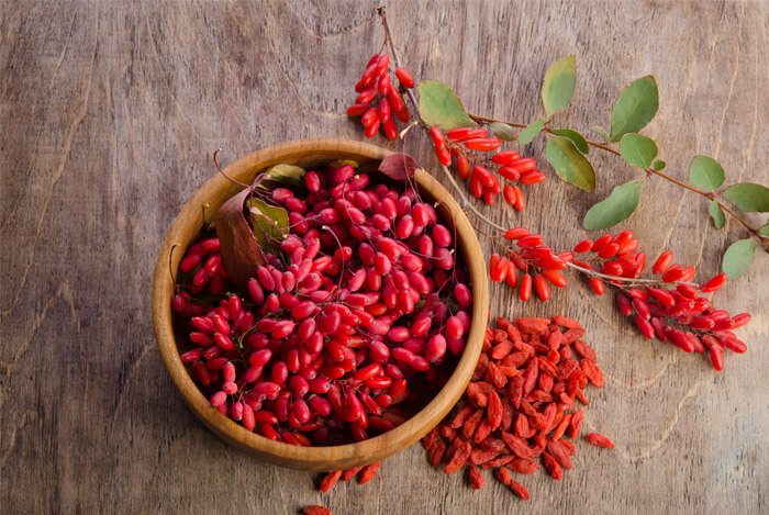 ripe dried goji berry