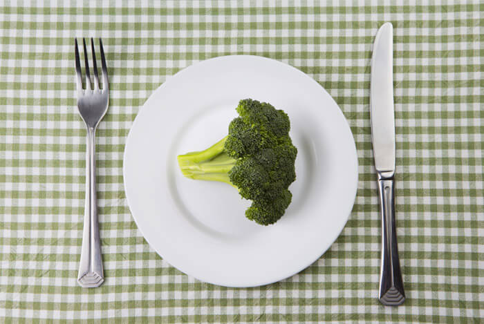 plate of broccoli