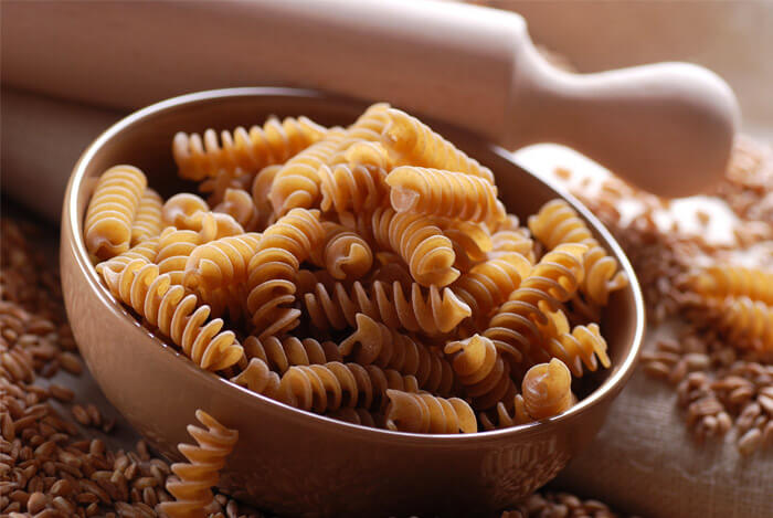 whole wheat pasta spirals
