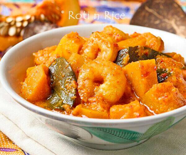pumpkin shrimp curry