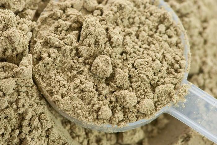 hemp protein flour