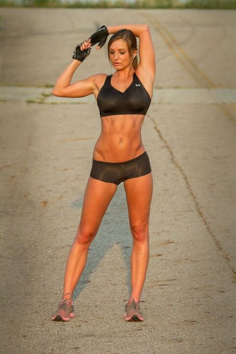 woman fitness plan