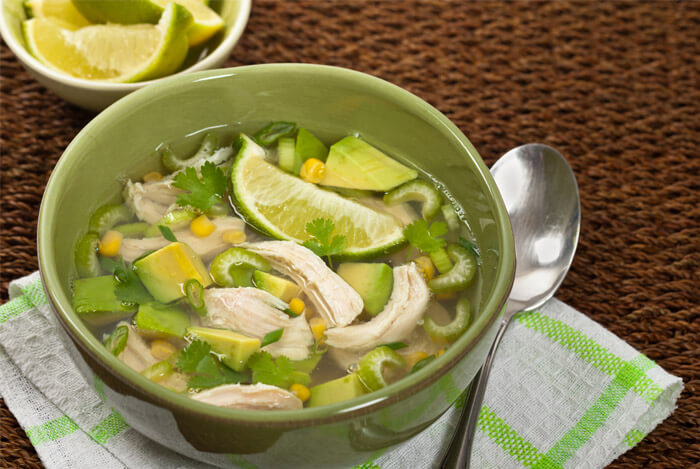 Chicken and Avocado Soup