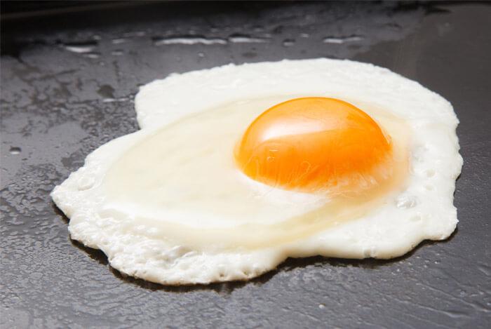Rice, Fried Egg, and Avocado
