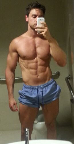 after chest workout