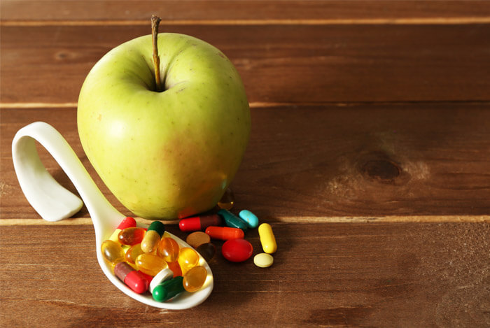 mix vitamins