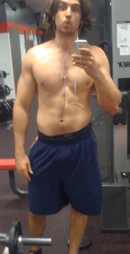 before chest workout