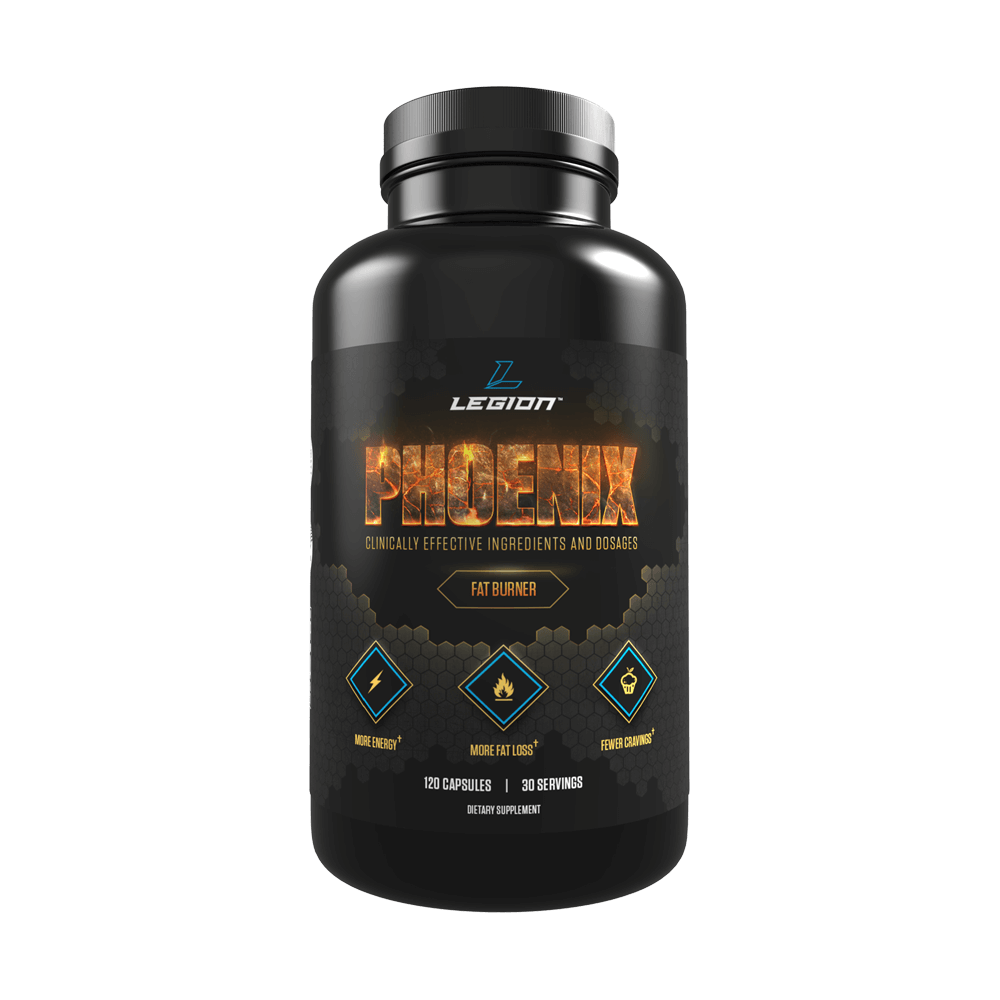 Legion Phoenix All Natural Fat Burner Supplement Legion Athletics
