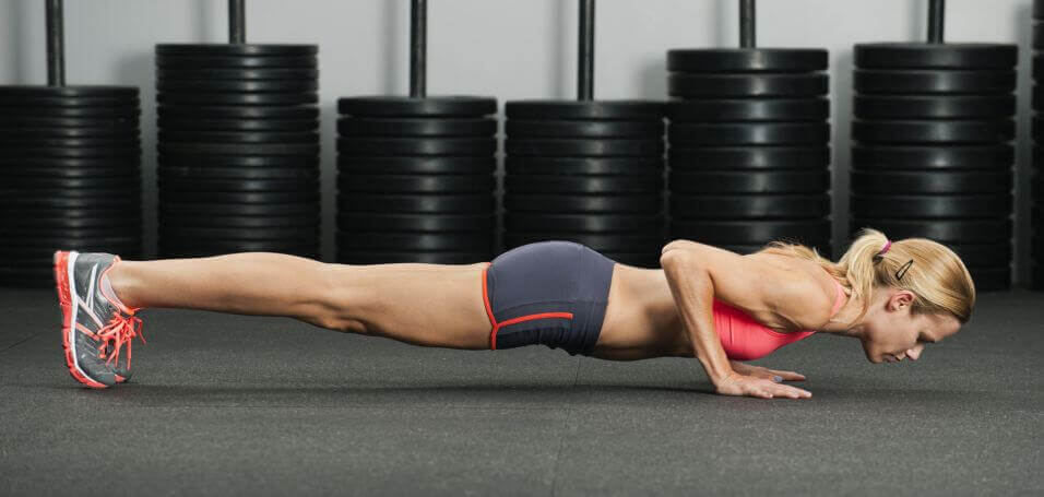 bodyweight push-up