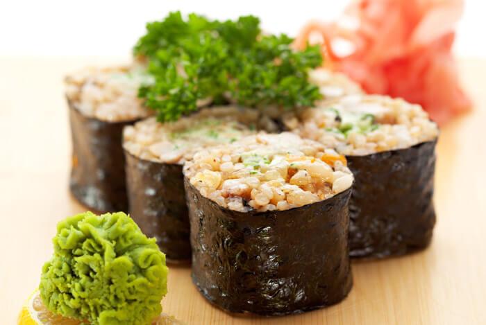 healthier sushi