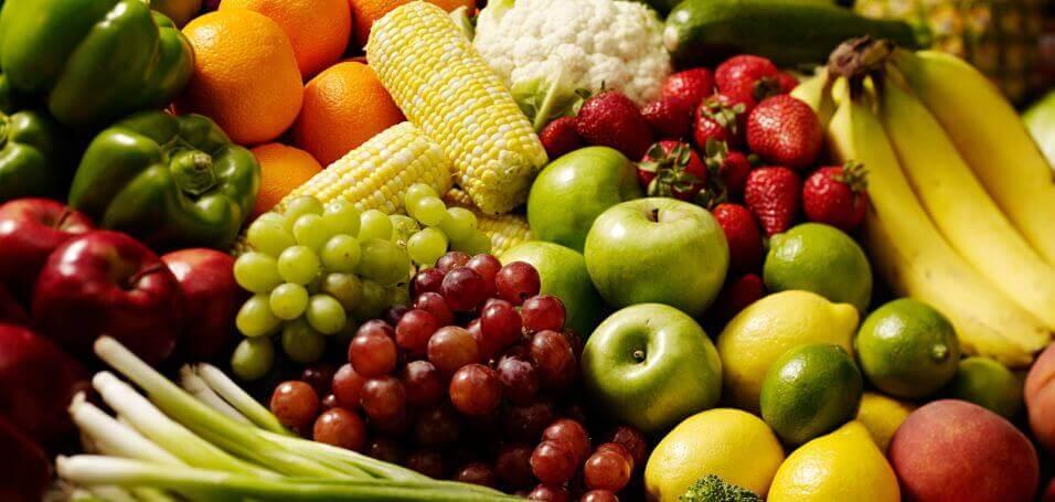fruit vegetables loose skin