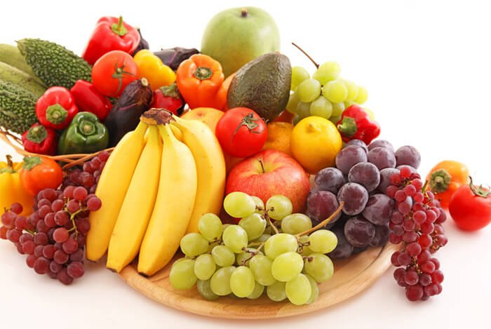 whole fruits vegetables