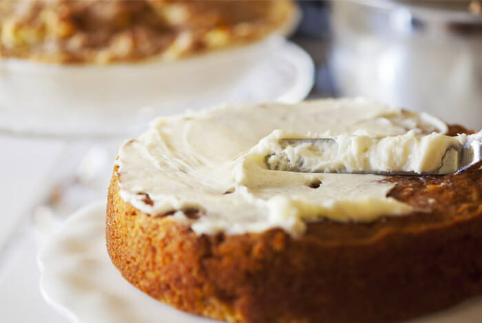 Lower-fat Carrot Cake