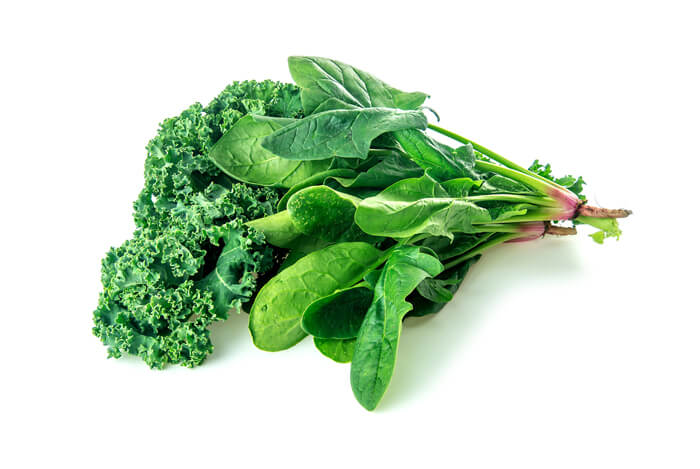 spinach kale