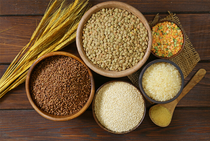 what are grains
