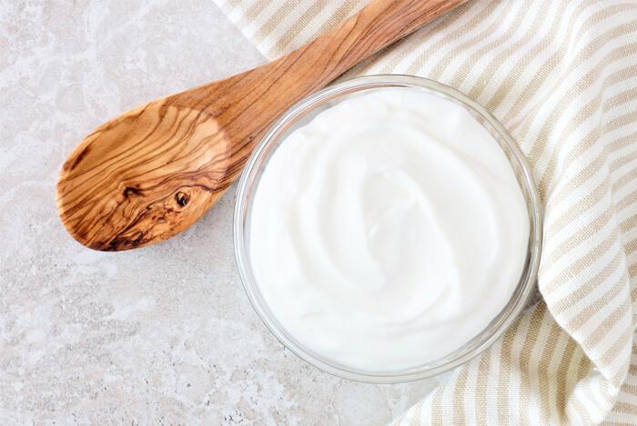 stir into yogurt