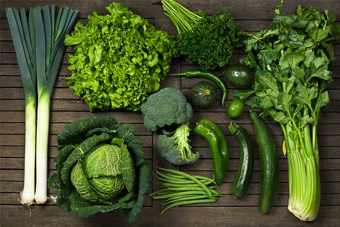 high in vitamins