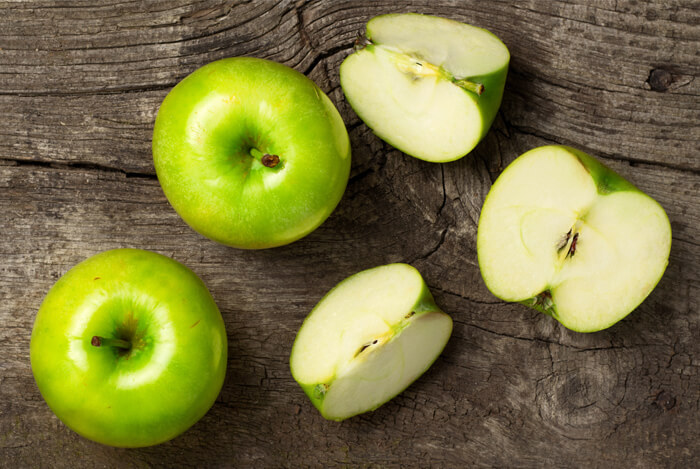 eat apples