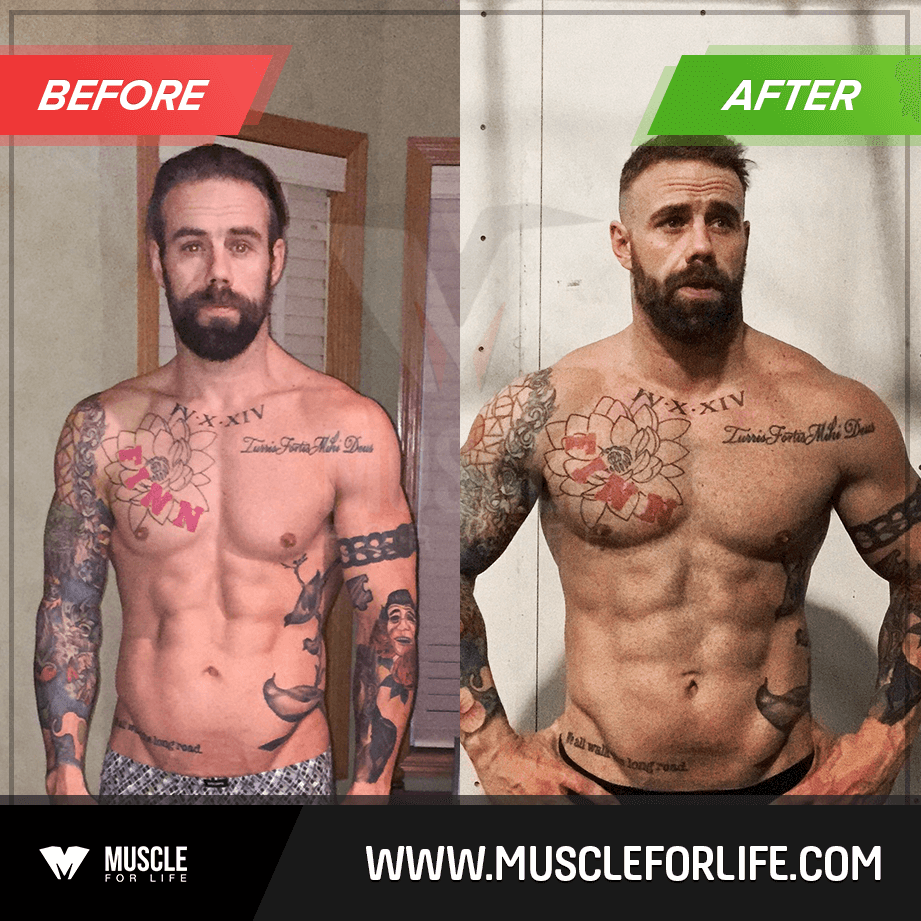 brad w transformation
