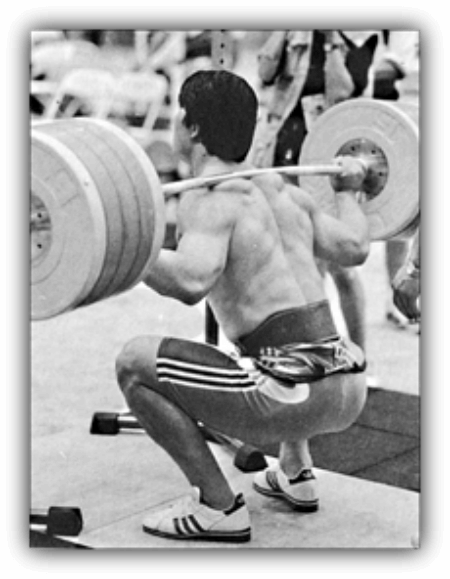 how to squat high bar