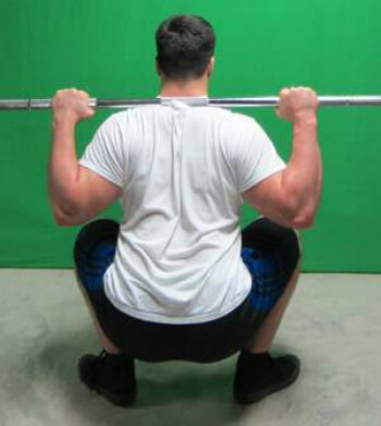 how to squat full grip