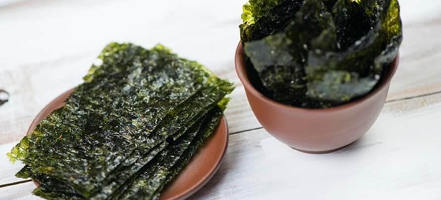 benefits of seaweed snacks
