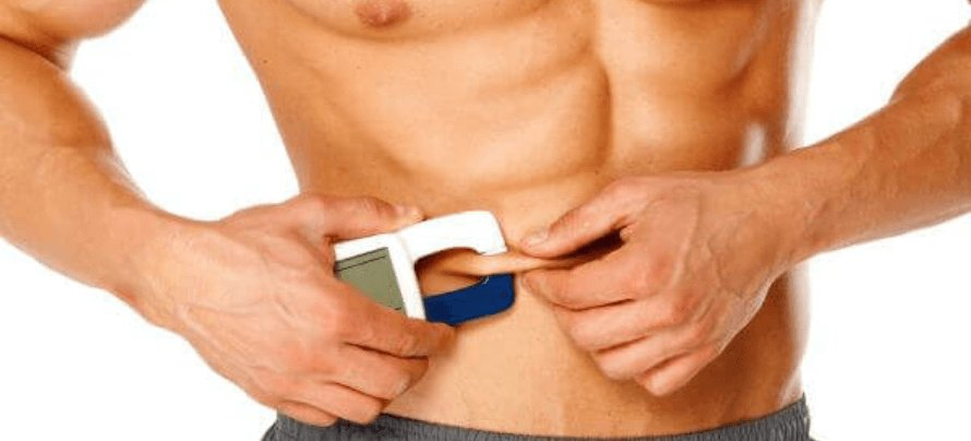 how to calculate body fat percentage with calipers