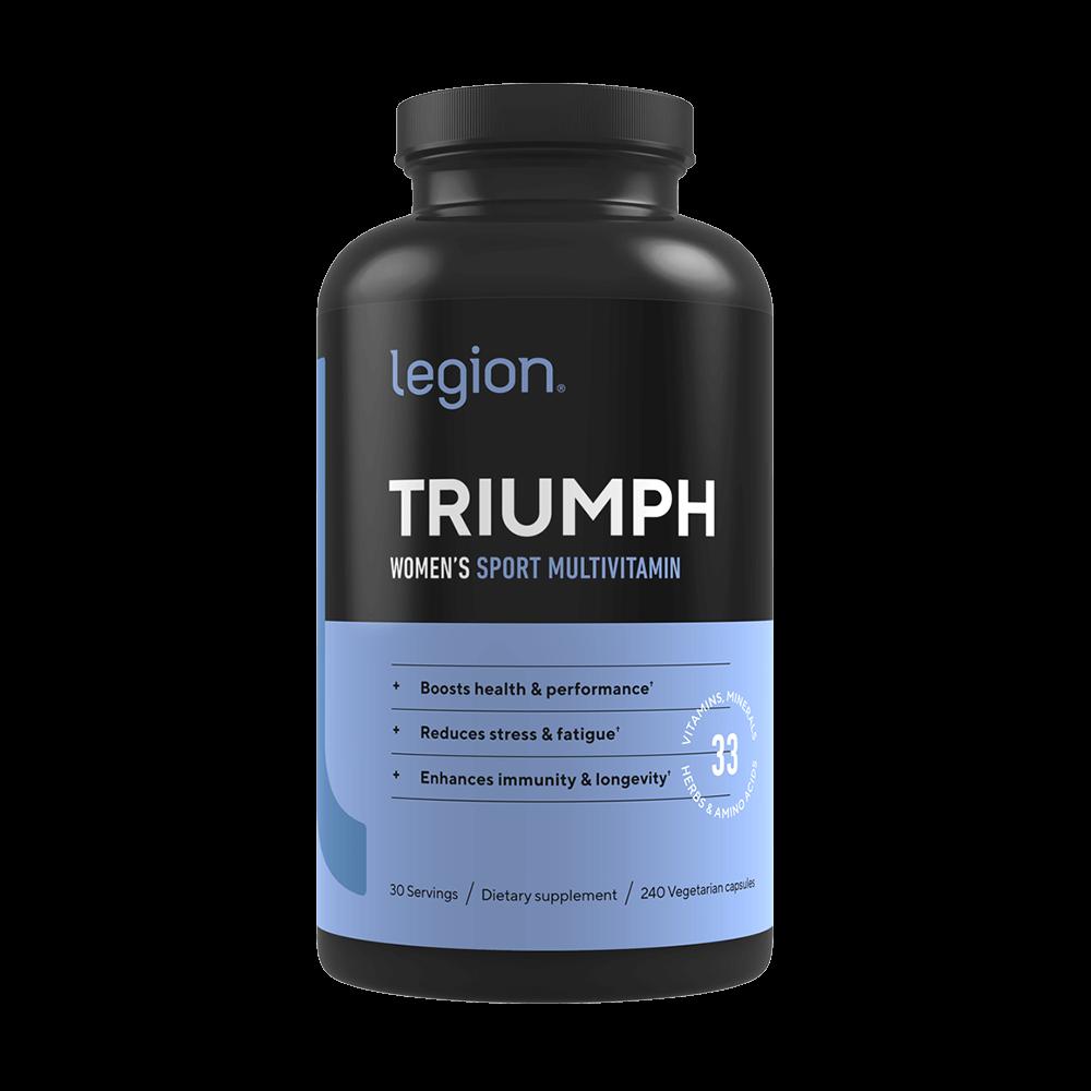 Legion Triumph - Women's Natural Sport Multivitamin | Legion Athletics