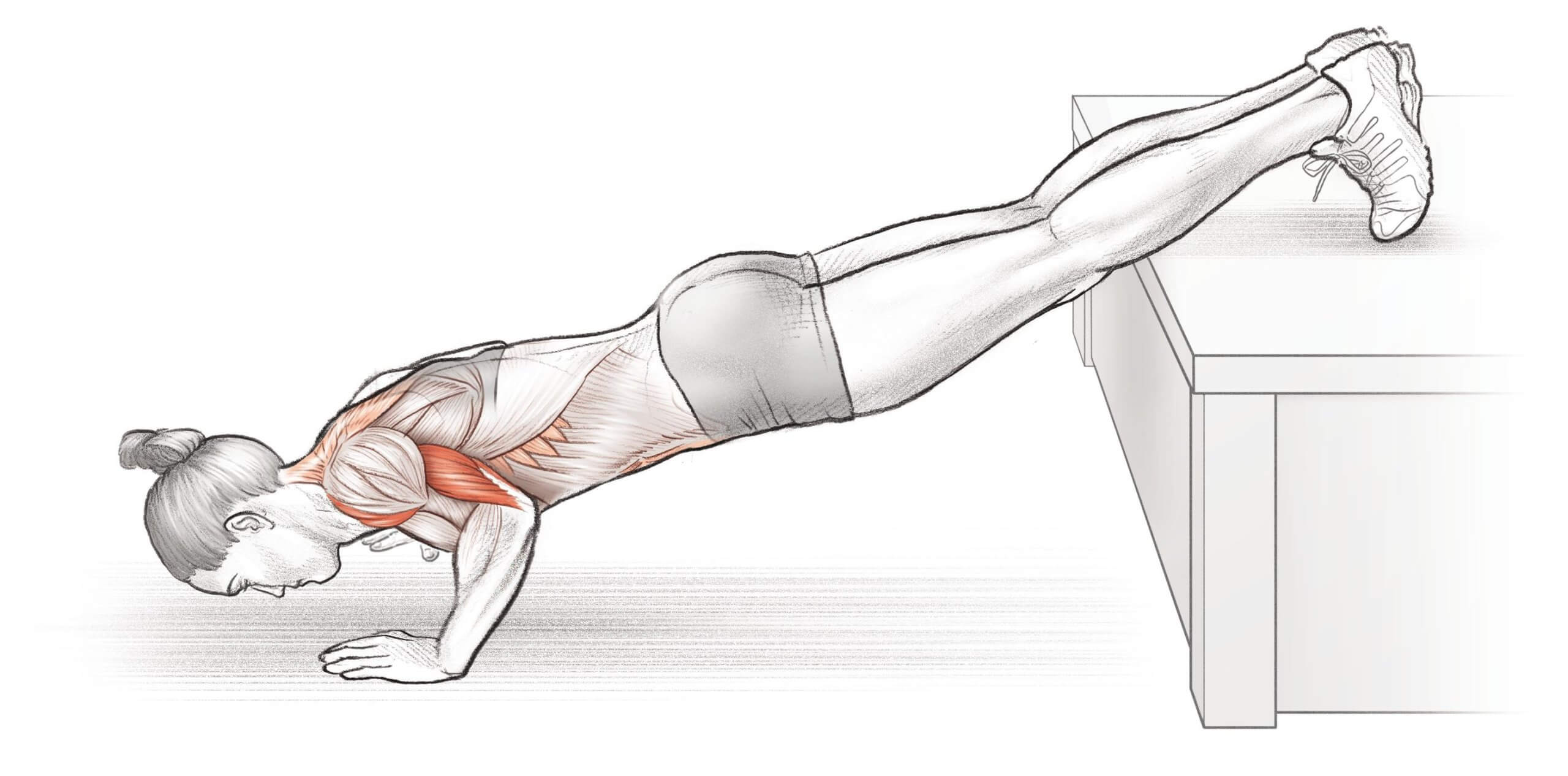 Feet-Elevated-Push-Up