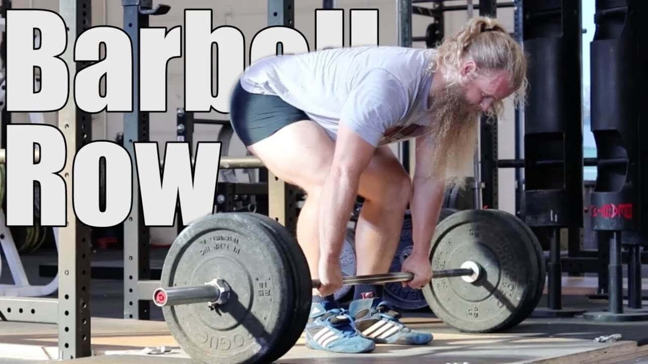 barbell row alternative