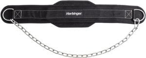 Harbinger Polypropylene Dip Belt with Steel Chain